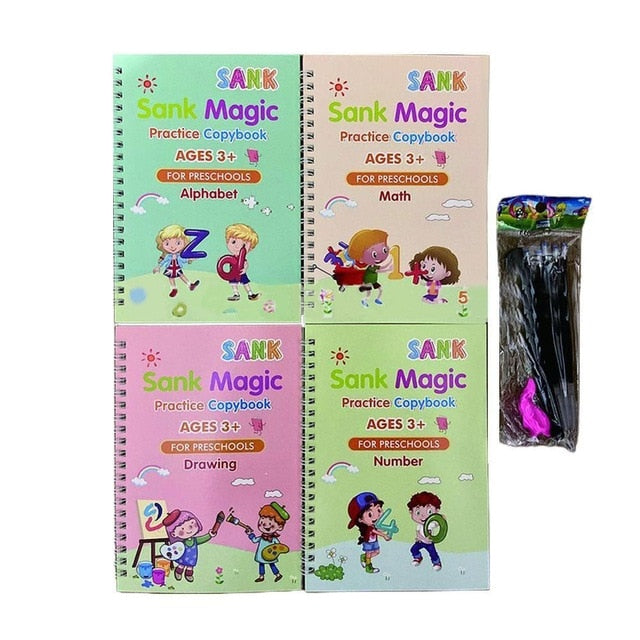 Magic Copy Book.  Learning for children.