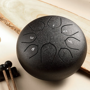 6 Inch Steel Tongue Drum - Free Shipping