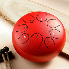 Load image into Gallery viewer, 6 Inch Steel Tongue Drum - Free Shipping