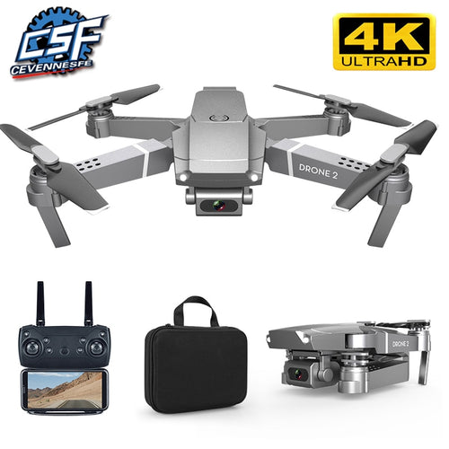 E68 Drone HD wide angle WIFI 720P, 1080P, or 4K - Free Shipping