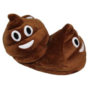 Funny poop emoji slippers - Be the talk of your sleep over - Free Shipping
