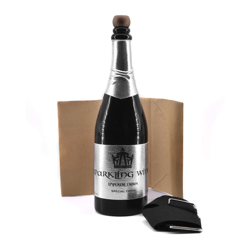 Vanishing Champagne Bottle (Black) Can Pour Liquid - Free Shipping