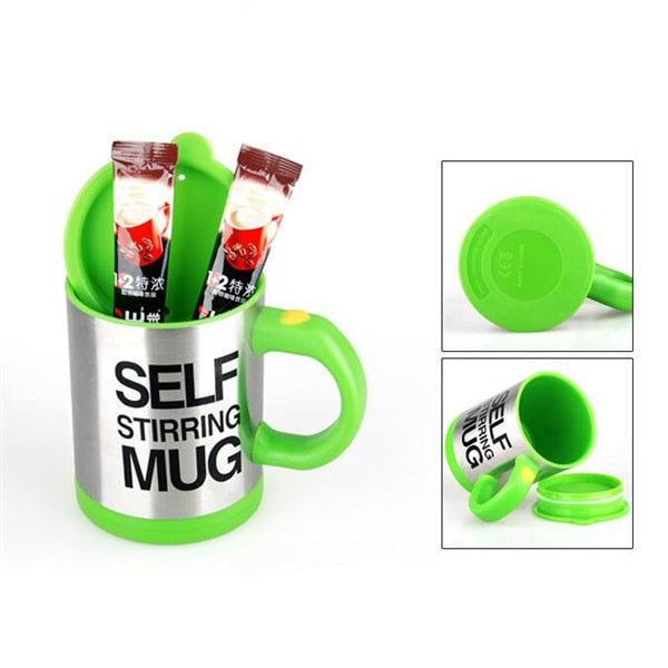 400ml Auto Stirring Mug - Free Shipping