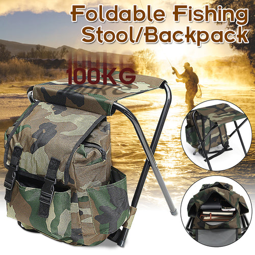 Folding Portable Chair/backpack for fishing/hunting - Free Shipping