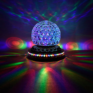 Mini Rotating Colorful LED Stage Light/Disco Light - Free Shipping