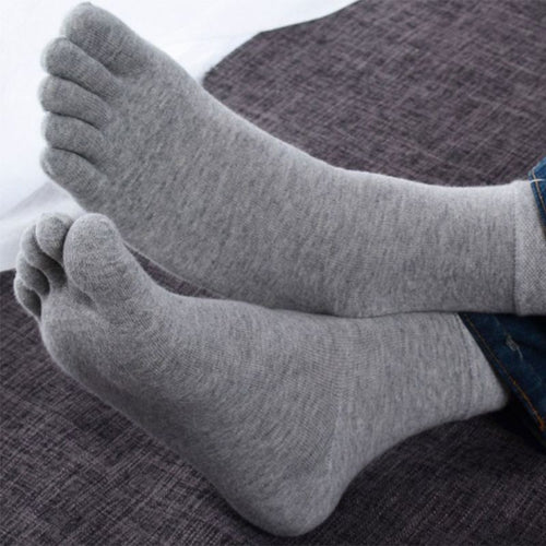 1 pair Mens Five Toe Socks - Free Shipping
