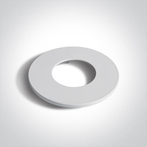 WHITE ROUND FIXED RING FOR 10106PF