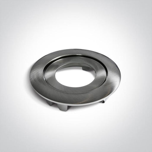 BRUSHED CHROME ROUND ADJUSTABLE RING FOR 11106PF