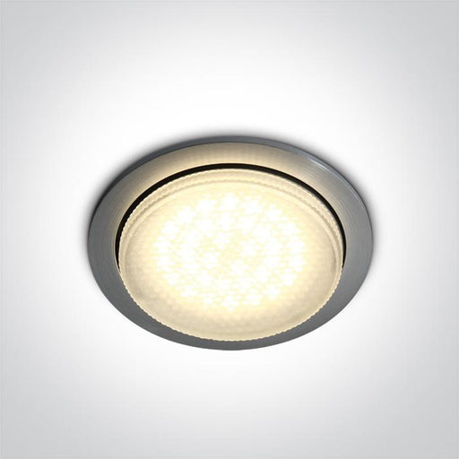 ONE Light Aluminium Gx53 9w Recessed 5291889029977 10004/AL