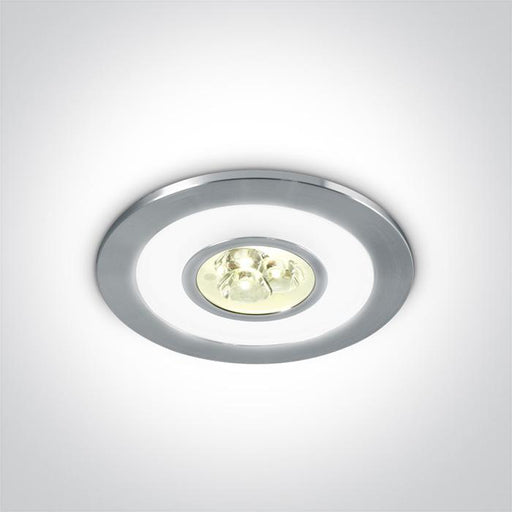 ONE Light Aluminium Led 3x1w Warm White + Ring Led Dl 350ma Ip42 5291889033196 10103A/W/D