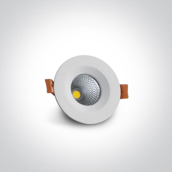 WHITE LED 7W CW IP20 60deg 230V