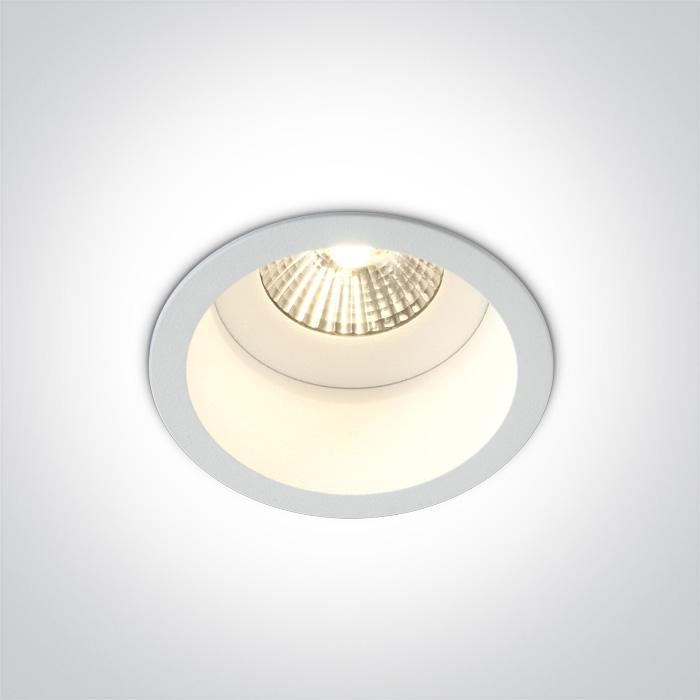 ONE Light White Cob Led 7w Warm White Dark Light 36deg Ip54 700ma 5291889045199 10107WD/W/W