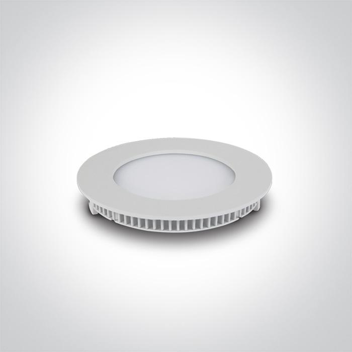 WHITE LED 8W CW IP40 230V