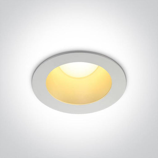 ONE Light White Led 12w  Warm White  Ip20 230v Dark Light Brass Reflector 5291889058663 10112ED/W/BS/W