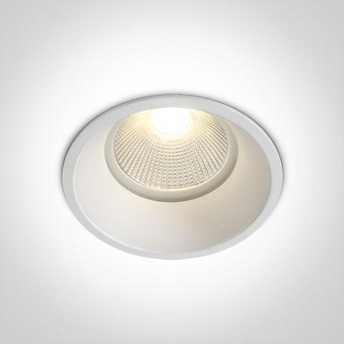 ONE Light White Cob Led 12w Warm White 700ma 38deg Ip44 Semitrimless 5291889046578 10112TP/W/W