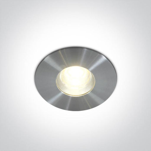 ONE Light Aluminium  Led 15w Warm White 50d Ip54 + Driver 100-240v 5291889032687 10113P/AL/W