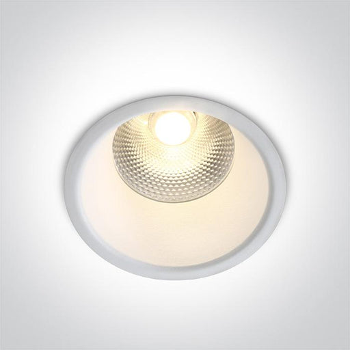 ONE Light White Led 15w Warm White 24deg Ip20 230v Dark Light 5291889057383 10115FD/W/W
