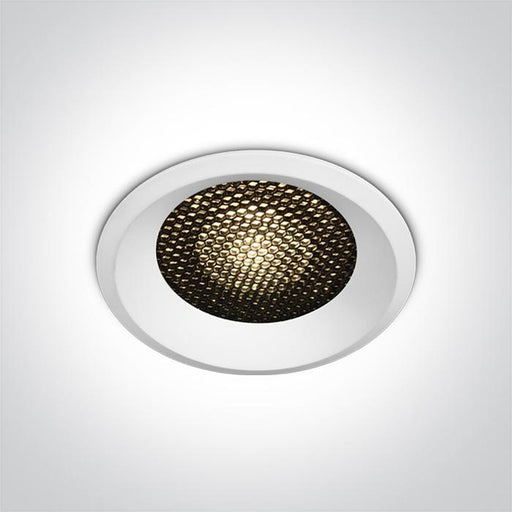 ONE Light White Led 18w Warm White Ip20 36deg 500ma Dark Light Honeycomb 5291889065432 10118DH/W/W