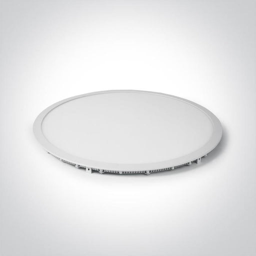 WHITE LED 48W CW 60cm RECESSED PANEL IP20 1200mA