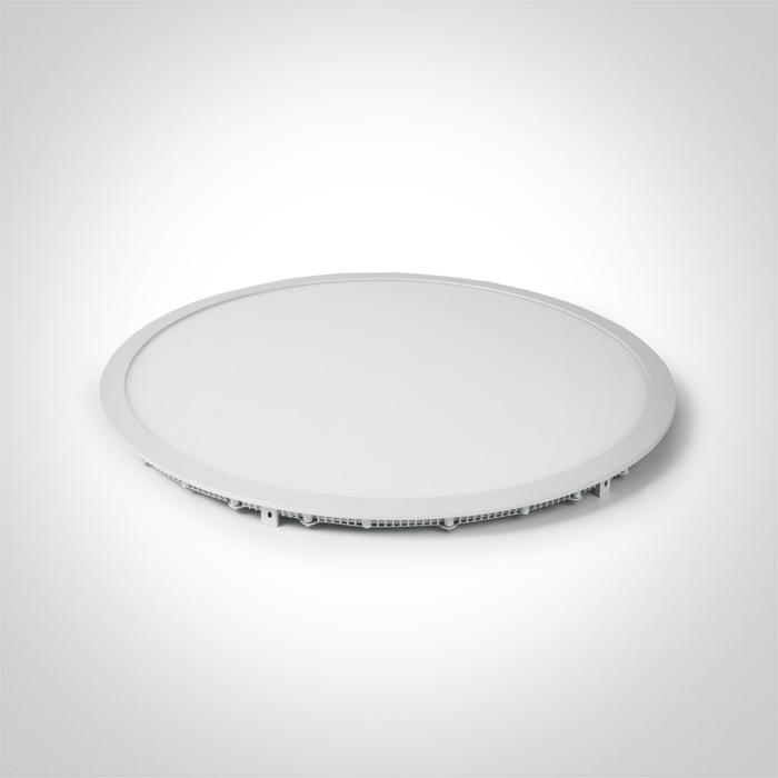 ONE Light White Led 48w Cool White 60cm Recessed Panel Ip20 1200ma 5291889041870 10148PE/W/C