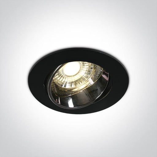 ONE Light Black Led 10w Warm White Ip20 30deg 230v Dark Light 5291889064190 11110E/B/W