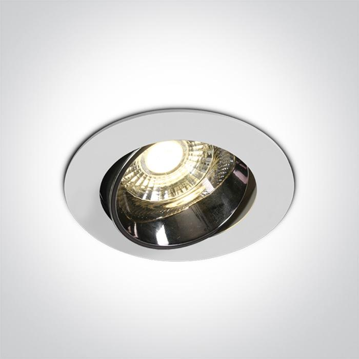 ONE Light White Led 10w Warm White Ip20 30deg 230v Dark Light 5291889064206 11110E/W/W