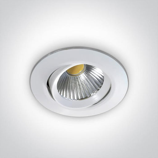 ONE Light White Cob Led 12w Warm White 700ma 38deg Ip20 Adjustable 5291889034940 11112/W/W