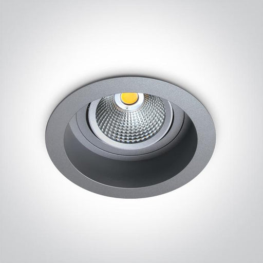 ONE Light Grey Led 18w Warm White 35d Semi-trimless + Driver 5291889032915 11118TR/G/W