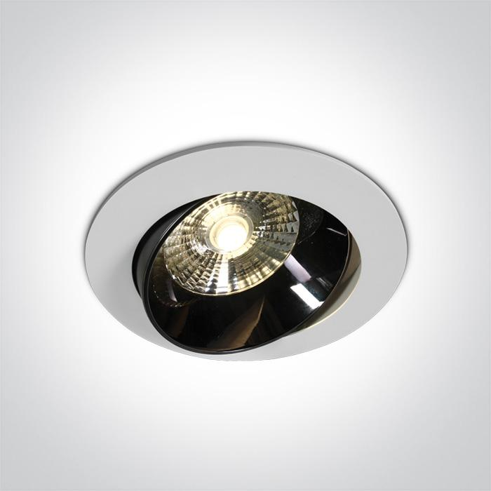 WHITE LED 20W WW IP20 30deg 230V DARK LIGHT