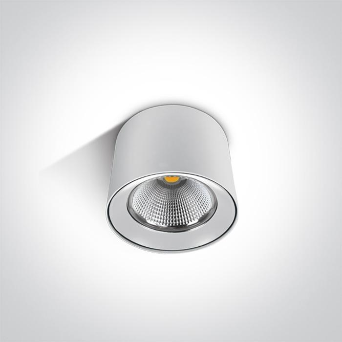 WHITE COB LED 25W WW IP20 50d 230V
