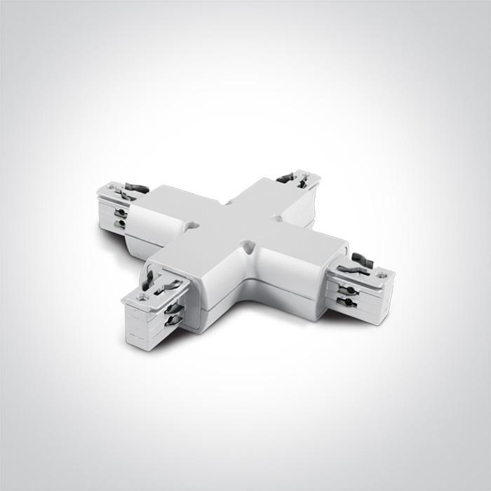 ONE Light 41018/w White X Connector 5291889004240 41018/W