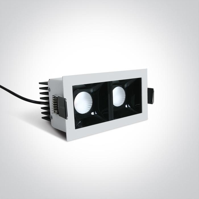 WHITE LED 2x6,5W WW 36deg IP20 350mA DIMMABLE