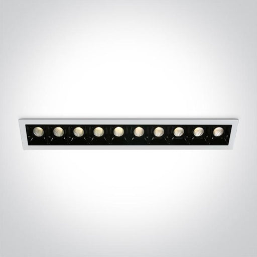 ONE Light White Led 10x2w Warm White 30deg Ip20 700ma Dimmable 5291889061809 50902B/W/W