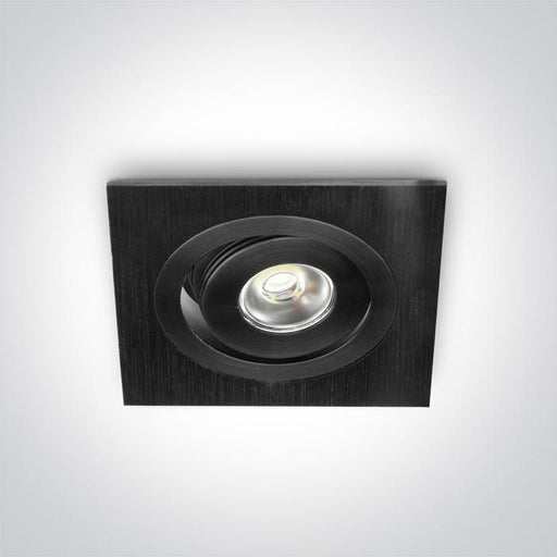 ONE Light Black Led Daylight 1w 35d 5291889021971 51101B/D/35