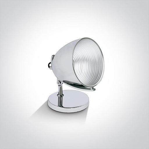 CHROME TABLE LAMP E27 20W