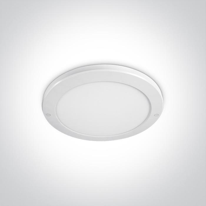 WHITE PLAFO LED 30W WW IP40 230V