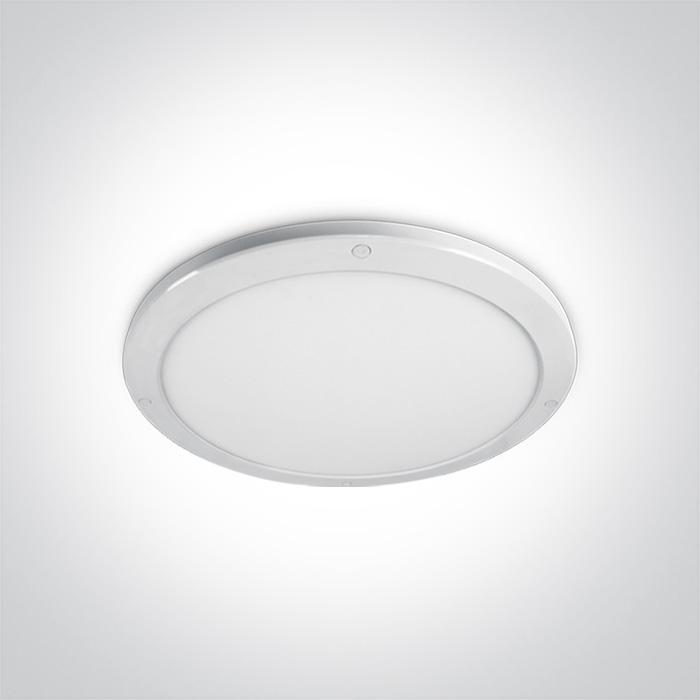 ONE Light White Ceiling Mounted Led 38w Warm White Ip40 230v 5291889051787 62038F/W/W