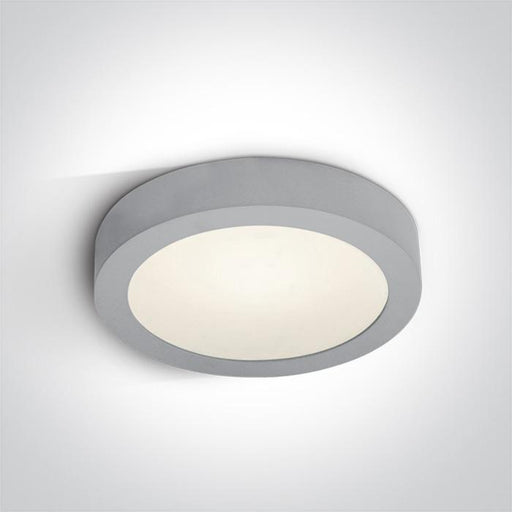 ONE Light Grey Ceiling Mounted Led 30w Cool White Ip40 100-240v 5291889034810 62130F/G/C