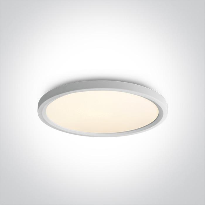 ONE Light White Led Ceiling Mounted 40w Warm White Ip20 230v 5291889057406 62140FB/W/W