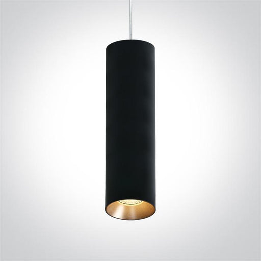 ONE Light Black Pendant Gu10 10w Dark Light 5291889063667 63105MA/B