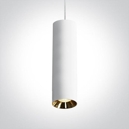 ONE Light White Pendant Gu10 10w Dark Light 5291889063674 63105MA/W
