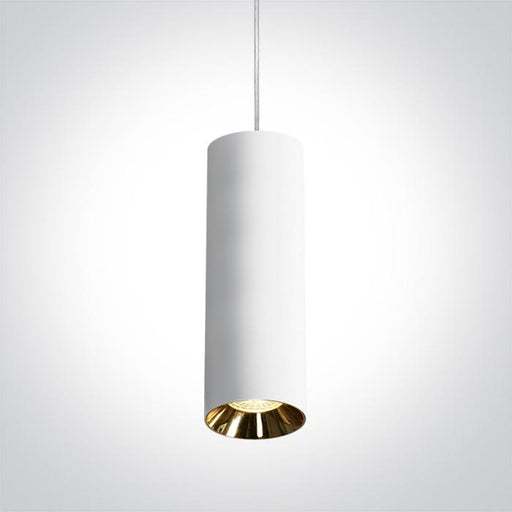 ONE Light White Pendant Gu10 10w Dark Light 5291889054726 63105M/W