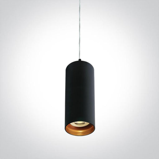 ONE Light Black Pendant Gu10 10w Dark Light 5291889055563 63105N/B