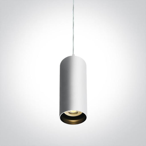 ONE Light White Pendant Gu10 10w Dark Light 5291889055556 63105N/W
