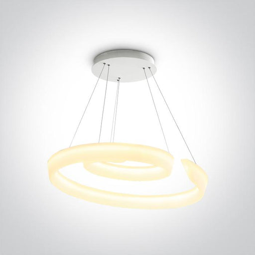 ONE Light Pendant Led 60w Warm White Ip20 230v 5291889062936 63112/W
