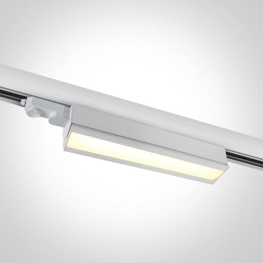 ONE Light White Led 40w Warm White Linear Track Light Adjustable 230v 5291889059158 65026T/W/W