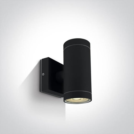 ONE Light Black Wall 2xgu10 35w Ip54 5291889059967 67130/B