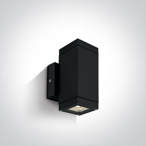 ONE Light Black Wall 2xgu10 35w Ip54 5291889057529 67130A/B