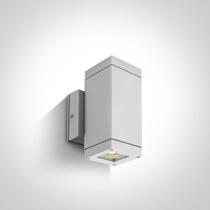 ONE Light White Wall 2xgu10 35w Ip54 5291889008217 67130A/W