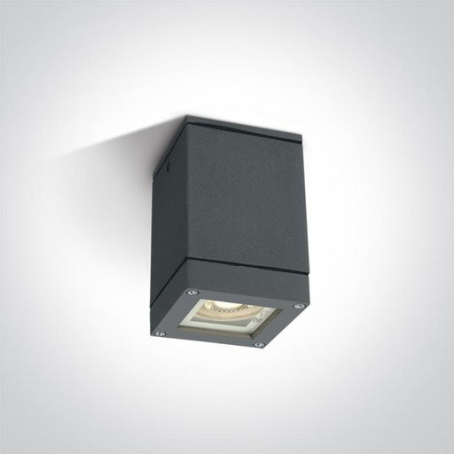 ONE Light Anthracite Square Ceil Gu10 35w Ip54 5291889042310 67130D/AN